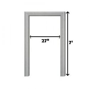 """FRAME PINTU G.I 27"""" (W) X 7' (H)  (KIRI/LEFT)"""