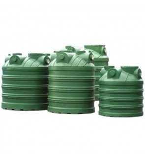 Ecosept PE Septic Tanks ES-40C1 Vertical C/W C.I Cover
