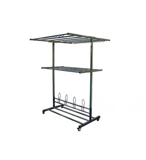 MOBILITY STAINLESS STEEL DRYING RACK BM-3893