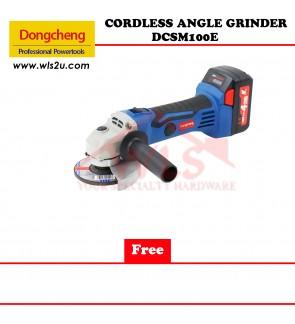 DONG CHENG CORDLESS ANGLE GRINDER DCSM100E