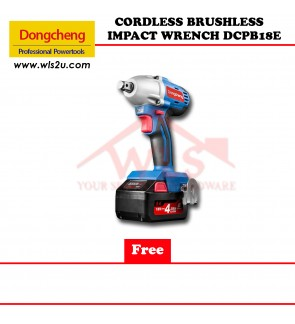 DONG CHENG CORDLESS BRUSHLESS IMPACT WRENCH DCPB18E