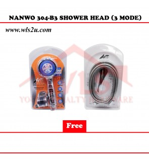 NANWO 304-B3 SHOWER HEAD (3 MODE)