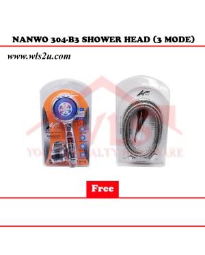 NANWO 304-B3 SHOWER HEAD (3 MODE)