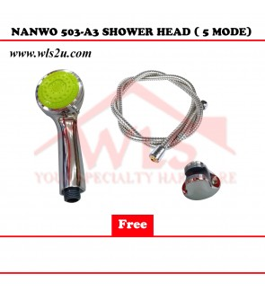 NANWO 503-A3 SHOWER HEAD (5 MODE)