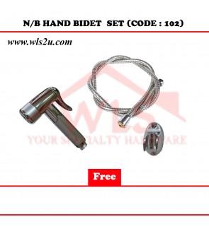 N/B HAND BIDET SET (CODE:102)