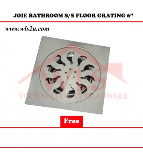 JOIE BATHROOM S/S FLOOR GRATING 6""