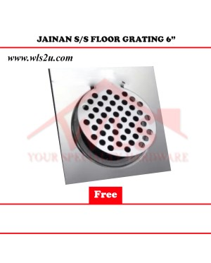 JAINAN S/S FLOOR GRATING 6""