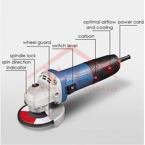 DONG CHENG ANGLE GRINDER DSM03-100A (710W)