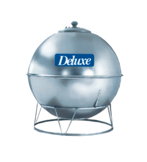 Deluxe CL35KB Earth Shape With Stand 304 Stainless Steel Water Tank 1500L/330G