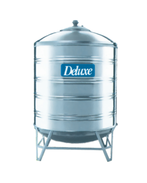 Deluxe CL40K Vertical Round Bottom With Stand 304 Stainless Steel Water Tank 1600L/350G