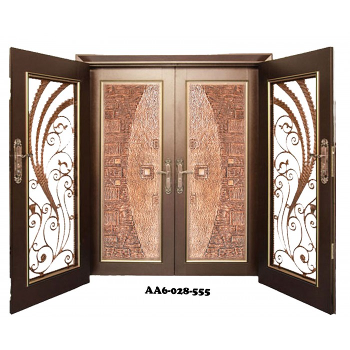 sc 1 st  WLS2U & THC Security Door Expert AA6 Double Layer Antique Board (Alloy Grille)